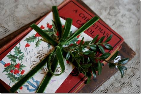 vintage christmas books