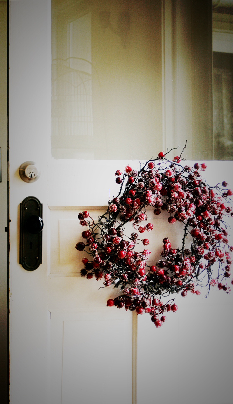 Quiet-christmas-back-door