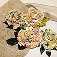 Fabric Scrap Flowers 01