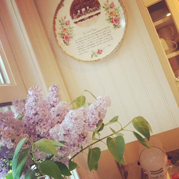 Lilacs-in-window