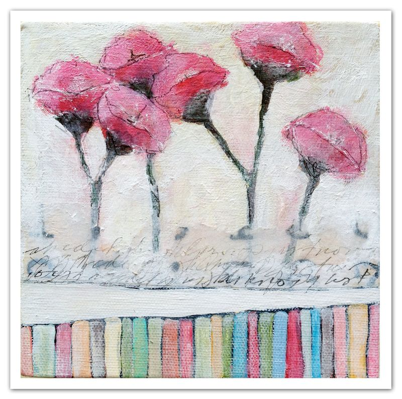 Pink-poppies