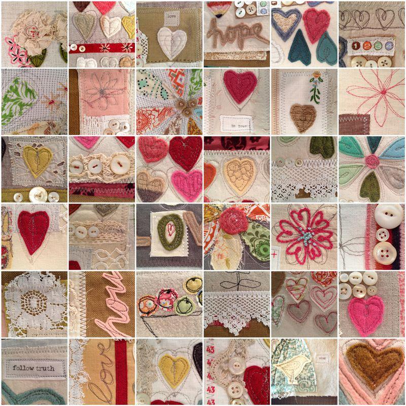 Mosaic-heart-journals