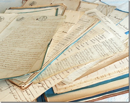 paris findings legal papers