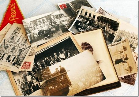 paris findings photos postcards